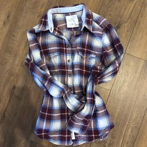 H&M fitted flannel